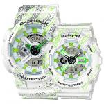 G-Shock ของแท้ ประกันศูนย์ GA-110TX-7A LOV BA-110TX-7A G-SHOCKxBABY-G