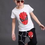 IM5322W.ชุดเด็กชาย ไซส์ใหญ่ เสื้อยืด+กางเกงผ้าเนื้อดีค่ะ ไซส์ 140/150/160 เช็คขนาดด้านใน