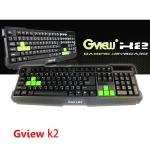 Gview K2 macro Gaming Keyboard