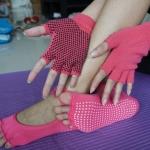 (พรีออเดอร์) ถุงมือ ถุงเท้าโยคะ กันลื่น YKSM30-47