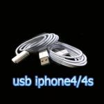 สายชาร์จ usb iphone4 ipad ios8 งานแท้
