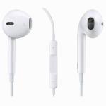 หูฟัง Earpods Earphone iphone5 5s 6 เสียงดี ปรับเสียงได้ ใช้ไดIOSทุกรุ่น -white