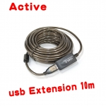 USB 2.0 Active Extension cable สายต่อยาว10m ขยายสัญญาณในตัว