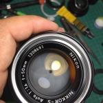 Nikon Nikkor-s Auto 50mm. F1.4 non ai mount