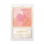 CANMAKE Glow Fleur Cheeks #01 Peach Fleur 6.3g. บลัชออนเนื้อฝุ่นโปร่งแสง