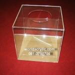 กล่องจับสลากรางวัล 40x40x40 cm.