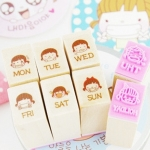 Girl Daily Stamp (Set)
