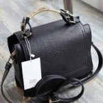 ZARA CITY BAG WITH RINGS AND HANDLE