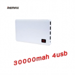 Remax Proda แบตสำรอง 30000mAh มี 4 usb