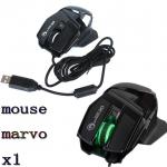 MARVO X1เมาส์สำหรับเล่นเกม Mouse Optical Gaming