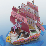 เปิดจอง [Jul'17] ONE PIECE GRAND SHIP COLLECTION BIG MOM'S PIRATE SHIP