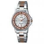 นาฬิกาข้อมือผู้หญิงCasioของแท้ LTP-1391RG-7AVDF