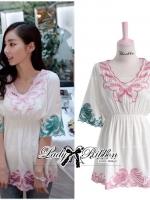 Sweet Pastel Mini Dress