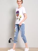 เสื้อผ้าเกาหลี พร้อมส่ง T + Denim Jean Series 2