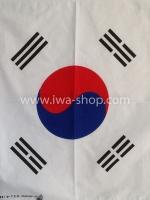 ผ้าเช็ดหน้า ผ้าพันคอ ลายธงเกาหลี