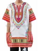 เสื้อลายชนเผ่า เสื้อลายจังโก้ สีผสมชมพู