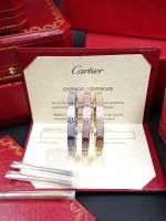 พร้อมส่ง กำไล Cartier เพชรรอบวง3ชั้น