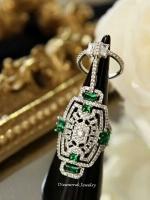 พร้อมส่ง APM Diamond Ring & Necklace งานเพชร CZ แท้