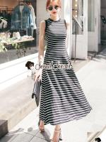 Arora Stripy Maxi Dress