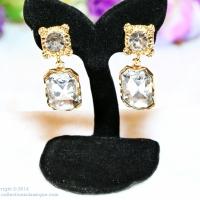 ต่างหูเพชร,ต่างหูพลอย,Diamond Earrings, Gem Earrings