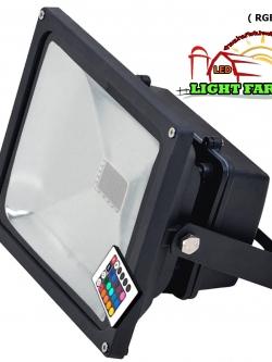 สปอร์ตไลท์ LED 50 w มอก. ( RGB )