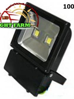 สปอร์ตไลท์ LED 100 w มอก. ( แสงสีขาว )