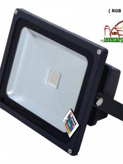 สปอร์ตไลท์ LED 30 w มอก. ( RGB )