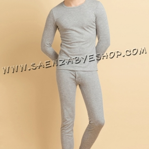ชุดลองจอห์นชาย สีเทาอ่อน Size F , L , XL