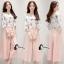 เสื้อผ้าเกาหลี พร้อมส่ง Pinky Camelia Cute Set thumbnail 2