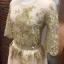 เสื้อผ้าเกาหลี พร้อมส่งGolden Lady Embroidered Luxury Top + Long Skirt Set thumbnail 6