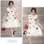 ชุดเดรสเกาหลี พร้อมส่ง3D Butterfly Luxury Dress thumbnail 6