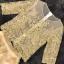 เสื้อผ้าเกาหลี พร้อมส่งGolden Lady Embroidered Luxury Top + Long Skirt Set thumbnail 7