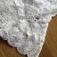 เสื้อผ้าเกาหลี พร้อมส่ง เสื้อผ้าลูกไม้สีขาวสไตล์คลาสสิก thumbnail 8