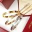 พร้อมส่ง LOVE 4 diamond Bracelet กำไลรุ่น LOVEเพชร4เม็ด ยอดฮิตตลอดกาล thumbnail 1