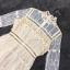 ชุดเดรสแฟชั่น พร้อมส่งชุดเดรสงานลูกไม้ผ้าแก้ว สีครีม thumbnail 11