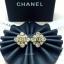 พร้อมส่ง ต่างหู Chanel งานเพชร CZ แท้ เพชรคัดเกรด 6A thumbnail 4