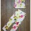 เสื้อผ้าเกาหลี พร้อมส่ง เซ็ทเสื้อ+กางเกง ตัวเสื้อใช้ผ้า 2 ชนิด กางเกง pattern สวยมาก thumbnail 7