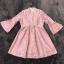 ชุดเดรสเกาหลี พร้อมส่งmini dress สีชมพูพาสเทล ทรงไฮโซหรูหรา thumbnail 7