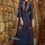 Self P Stylish Luxury Long Lace Dress thumbnail 1