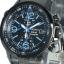 นาฬิกา Seiko Chronograph Solar Watch V172 SSC079 สายสแตนเลสรมดำ thumbnail 7