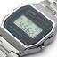 นาฬิกาข้อมือผู้หญิงCasioของแท้ A-158WA-1DF thumbnail 2
