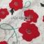 ชุดเดรสเกาหลี พร้อมส่งเดรสผ้าลูกไม้สีขาวปักลายดอกไม้สีแดงตกแต่งชายพู่ thumbnail 8