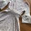 ชุดเดรสเกาหลี พร้อมส่งเดรสผ้าลูกไม้สีขาวงาช้างแขนบานพร้อมเข็มขัด thumbnail 10