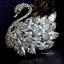 พร้อมส่ง Diamond Brooch เข็มกลัดเพชร งานเพชร CZ thumbnail 1