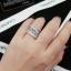 พร้อมส่ง Diamond Ring งานเพชร CZ แท้ ดีไซส์เพชรปาเกตเพชรชูไซว์ 1 กะรัต thumbnail 5