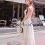 ( พร้อมส่งเสื้อผ้าเกาหลี) Korea Party Lux Long Maxi-Dress by Seoul Secret thumbnail 5