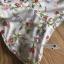 ชุดเดรสเกาหลีพร้อมส่ง เดรสผ้าเครปสีเบจปักลายดอกไม้สีสดใส thumbnail 9