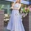 Alice Hollow lace Sleeveless Maxi Dress thumbnail 5