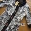 เสื้อผ้าเกาหลี พร้อมส่งเชิ้ตเดรสผ้าลูกไม้ทับผ้าโพลีเอสเตอร์ประดับกระดุม thumbnail 14
