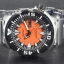 Seiko Monster Automatic รุ่น SRP315K2 นาฬิกาข้อมือผู้ชาย สีดำเงิน สายสแตนเลส thumbnail 6
